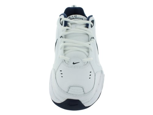 NIKE AIR MONARCA IV SCARPE RUNNING White / Metallic Silver / Midnight Navy