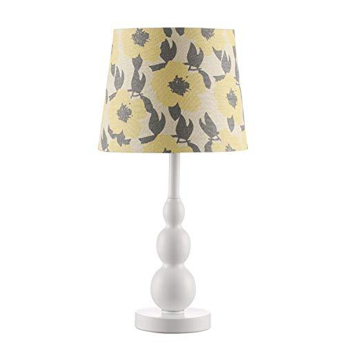 H.ZHOU Modern Nachttisch Lampen Wohnzimmer, Tischlampe Schlafzimmer Nachttischlampe Amerikanischen Stil Design Schlafzimmer Nachttisch Modern Kreativ Einfach Nordischen Land IKEA Schreibtisch Kinderz -