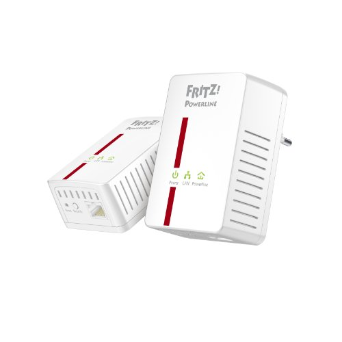 AVM FRITZ Powerline 500E Set (500 Mbit/s, Gigabit LAN)