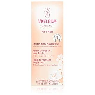 WELEDA Schwangerschafts-Pflegeöl, Body oil, 100 ml, Pflegendes Körperöl zur Vorbeugungen- und Beseitigung von Schwangerschaftsstreifen, Hautpflege, Elastizität
