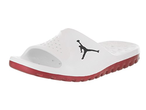 Nike Jordan Super.Fly TM SLD 2 GRPC Slipper Badeschuhe Schuhe für Herren Weiß (White/Gym Red/Black/Pure Platinum)