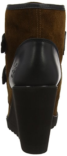 Marrone Donna Camel Stivali Pack094fly Fly black London qSRwA