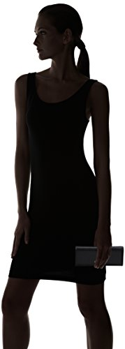 Coccinelle - C2 Yw1 Metallic Saffiano 114501, borsetta Donna Nero (Black)