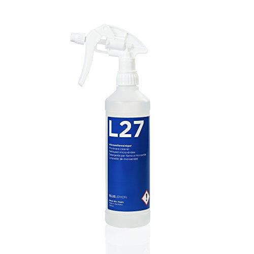 Cleanser Zum Reinigen (Profi Mikrowellenreiniger 500ml L27 von BLUELEMON | Biologisch | 90569 | Spezialreiniger mit Aktivschaum zum Reinigen von Mikrowellen)