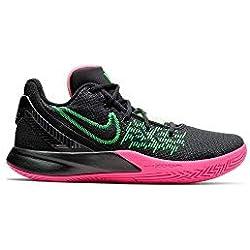 Nike Kyrie Flytrap II, Zapatillas de Baloncesto para Hombre, Black/Hyper Pink/Rage Green 5, 47 EU