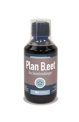Plan B. EET Engrais Bio pour légumes Marron, 5,5 x 5,5 x 14 cm