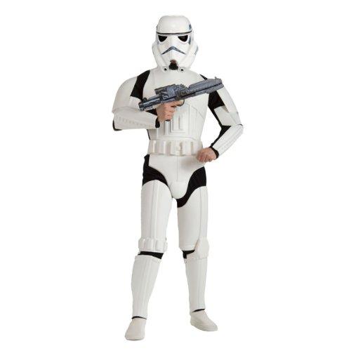 Star Wars - Stormtrooper Kostüm für Erwachsene Star Wars Kostümset 3tlg - (Stormtrooper Kostüm Star Wars Für Erwachsene)