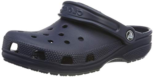 Crocs Ladies Classic Unisex Croslite Breathable Strap Beach Clog Navy Crocs Classic Keeps Your Feet Comfortable All Day Crocs Classic Is A Lightweight Clog Choice For Men And Women. The Ergonomic, Italian Design Of These Shoes Allows Your Foot To Ben...