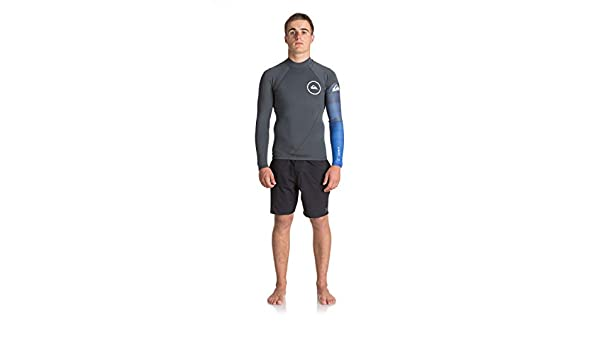 2018 Quicksilver Syncro New Wave 1mm Long Sleeve Neoprene Top JET BLACK  EQYW803007  Quiksilver  Amazon.co.uk  Sports   Outdoors ed9c8424f