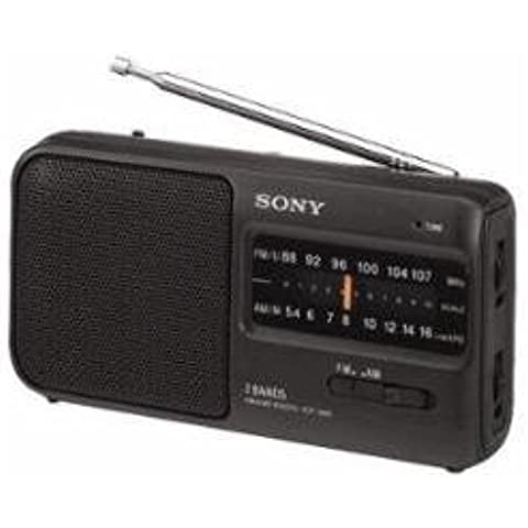 Sony ICF390BLK - Radio, color negro