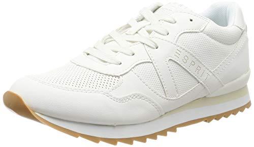 ESPRIT Damen Astro LU Sneaker, Weiß (White 100), 38 EU