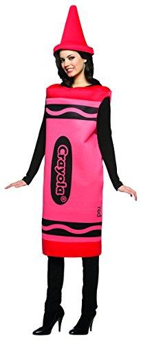 Rasta Imposta Crayola weiblich Kostüm (rot) (Frauen Kostüm Crayon)