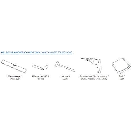 MOCAVI RING 110 Edelstahl-Design-Klingel schwarz matt RAL 9005 quadratisch, Klingeltaster - 3