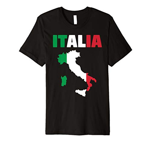 Italia Flagge Italienische Flagge T-Shirt Italien Liebhaber