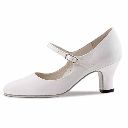 Werner nucléaire-Chaussures de danse femme Ashley 6 Weiß