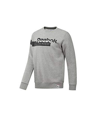 Reebok Herren Pullover AC F Dis Fleece grau XL