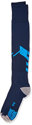 Hummel Socken Tech Football Socks, Total Eclipse/Methyl Blue, 14, 22-143-1618