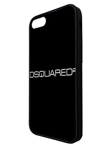 iPhone 5 5s Cover Retro, iPhone SE Case Frasi, DSQUARED2 Marca iPhone SE Custodia Fantasia Donna - DSQUARED2 Logo