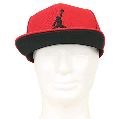 a9f55bf9b6508 Nike Jordan Pro Jumpman Snapback Chapeau Mixte Adulte, Gym Red/Black, FR  Unique