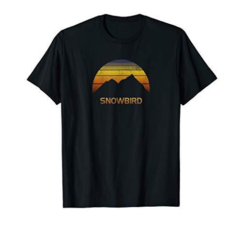 Shirt Snowbird Utah Ski Snowboard Fan Clothes Gift Utah Ski Snowboard