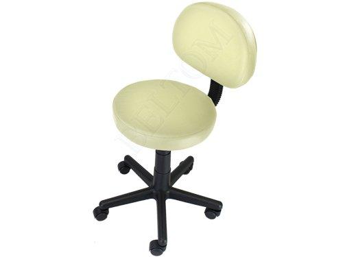 Beltom sgabello con schienale pedicure manicure per lettino