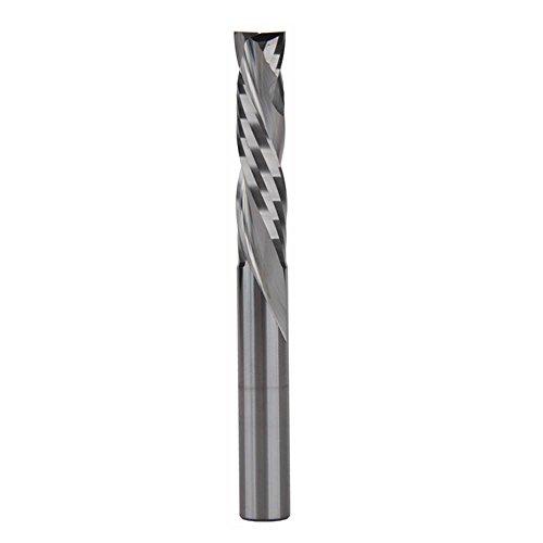 EU_HOZLY 8X35mm UP & DOWN Schneiden Sie zwei Flöten Spiral Hartmetall Werkzeugschneider für CNC Router Kompression Holz End Mill Bits