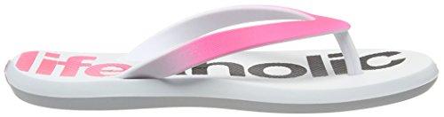 Lunar Energy R1, Chaussures de Plage et Piscine Mixte Enfant Rose (Pink/White 24108)