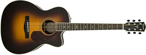 FENDER 0960291203 PM 3 DELUXE TRIPLE 0 EBANO DIAPASON – GUITARRA ELECTRICA  COLOR VINTAGE SUNBURST