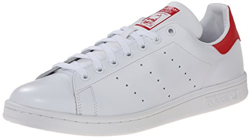 Adidas Stan Smith, Sneaker Unisex adulto White Red