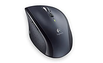 Logitech M705 Wireless Mouse For Windows, Mac, Chrome For Laptop & Computer - Black 1