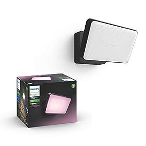 Philips Hue White and Color Ambiance LED Flutlicht Discover, für den Aussenbereich, dimmbar, bis zu 16 Millionen Farben, steuerbar via App, kompatibel mit Amazon Alexa (Echo, Echo Dot)