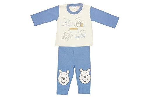 Kleines Kleid Winnie the Pooh 2-teiler Babyset Hose und Langarmshirt Größe 74 (Kleider Pooh Winnie The)