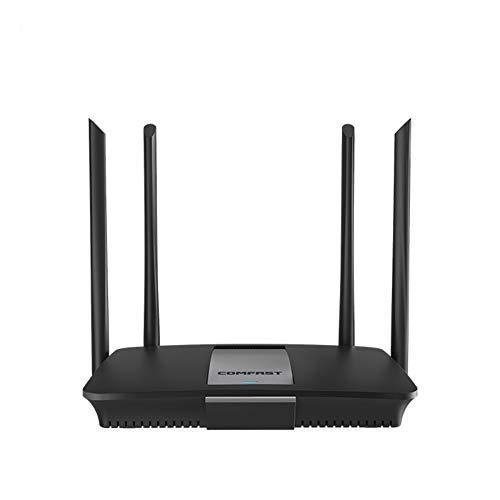 JIANG WLAN-Router, Hochleistungs-Dualband-Gigabit-AC-Management-1200M-WLAN-Router der Enterprise-Klasse