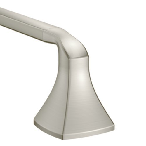 8-Inch Bathroom Towel Bar, Brushed Nickel by Moen ()