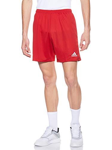 adidas Parma 16 SHO Sport Shorts, Hombre, RojoBlanco (Rojo