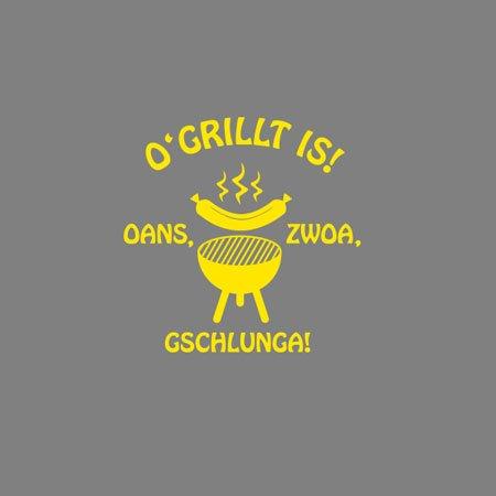 TEXLAB - Gschlunga! - Stoffbeutel Oliv