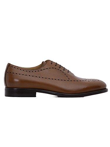 sergio-rossi-hombre-5892c-marron-cuero-zapatos-de-cordones