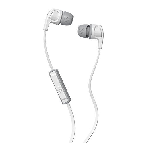 Skullcandy S2PGJY-560 Ear Buds Wired With Mic Earphones (White)