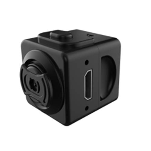 XRQ Portable Outdoor-Kleinbildkamera HD-Kamera Flugaufnahme Mini DV-Recorder 5 Millionen Pixel Akku verfügbar 90 Minuten,Schwarz