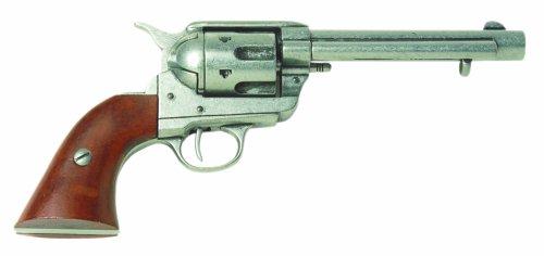 Deko Colt Revolver 1873 Kal. 45 5,5 Zoll grau -