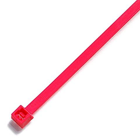 Fluorescent Nylon Cable Ties 200 x 4.8mm (TR5) All Neon