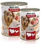 6 x 400g Bewi Dog fleischkost