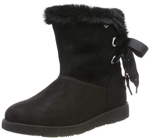 TOM TAILOR für Frauen Schuhe Stiefel mit Binde-Detail Black, 40