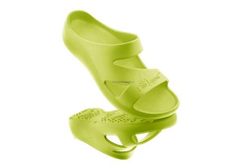 AEQUOS Dolphin - la calzatura che migliora equilibrio e benessere fisico Verde acido