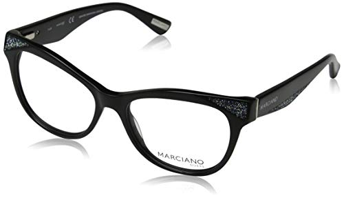 Guess Damen by Marciano Optical Frame GM0320 001 53 Brillengestelle, Schwarz