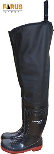 Watstiefel S5 ACIFORT Dunlop Teichhstiefel PVC Stiefel Angelstiefel WR02DS5