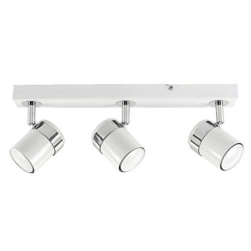 MiniSun - Plafón de techo con 3 focos - regleta de luz...