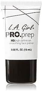 LA Girl Pro Prep HD Face Primer, Clear, 15ml