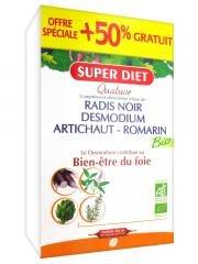 Super Diet Quatuor Bio Bien-Être du Foie 30 Ampoules