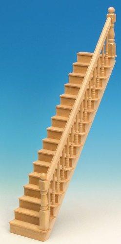 MiniMundus geradläufige Treppe für Das Puppenhaus, Bausatz